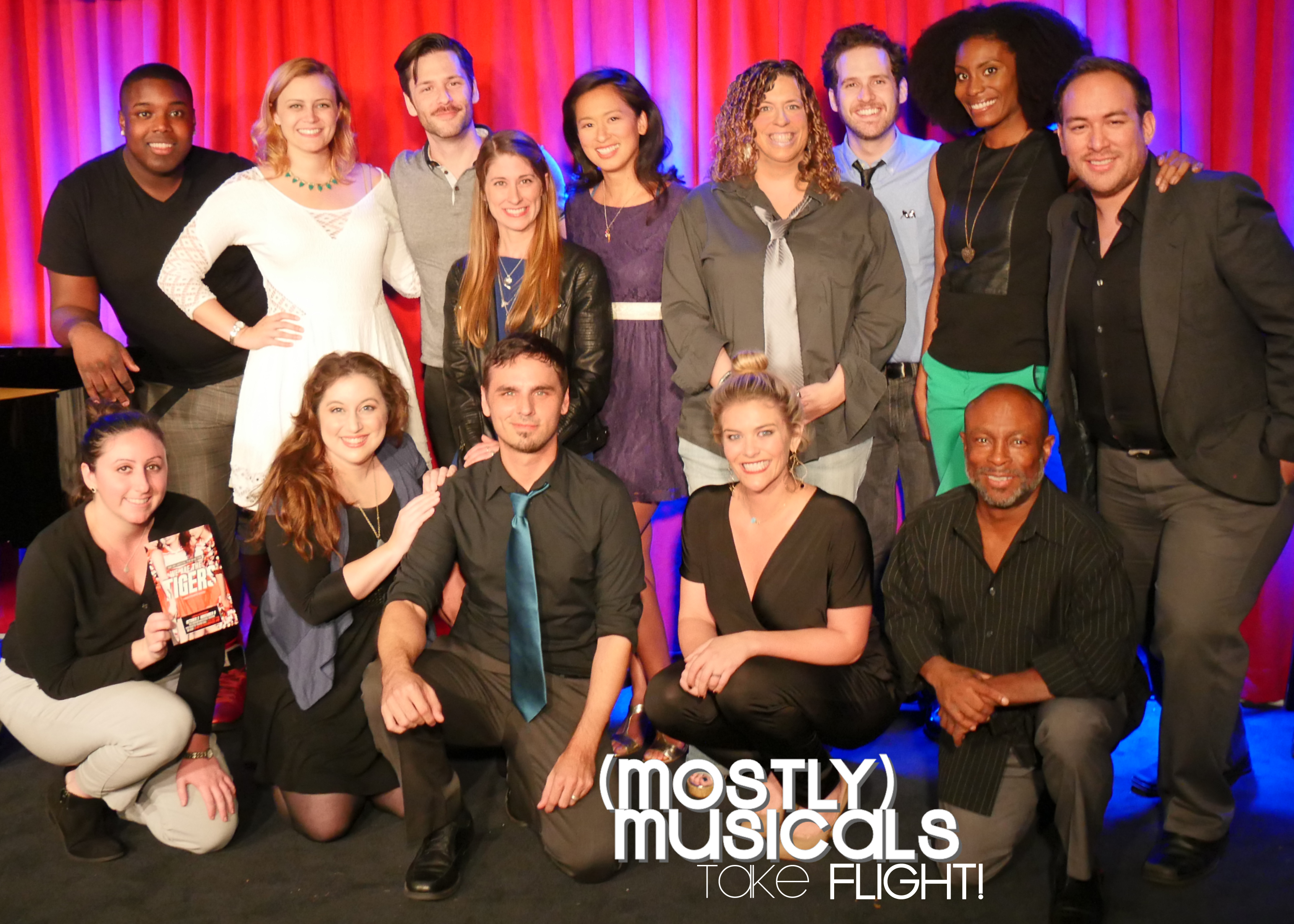 october 7 mostly musicals cast